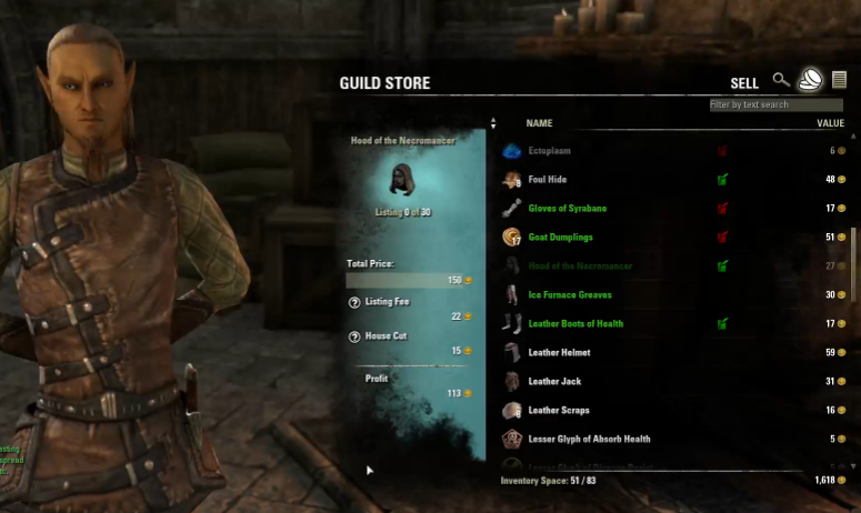 The Elder Scrolls Online and the Economy